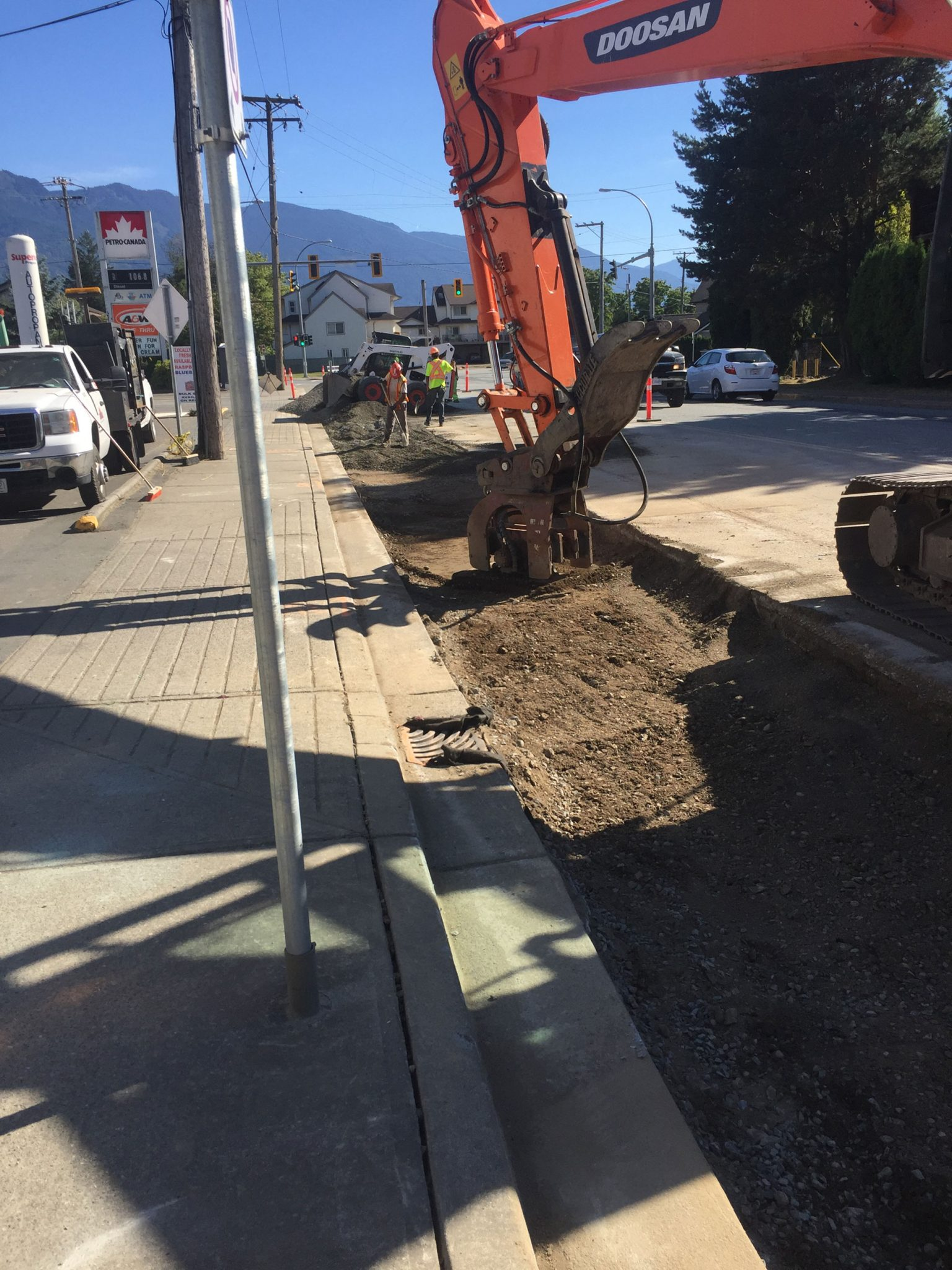 Highway 9 Morrow Road to Cheam Avenue Sanitary Sewer Upgrades.